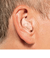 ITE hearing aid at Cumberland Hearing Aid Center